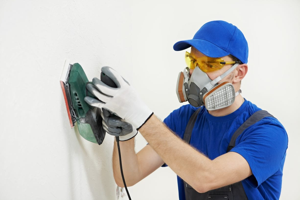 respirator dust exposure sanding