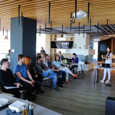 workplace office ergonomic workstation presentations